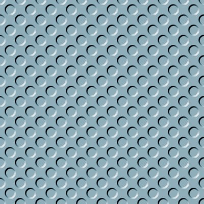 Click to get the codes for this image. Blue Gray Indented Circles Background Seamless, Beveled and Indented, Circles, Blue, Gray Background Wallpaper Image or texture free for any profile, webpage, phone, or desktop