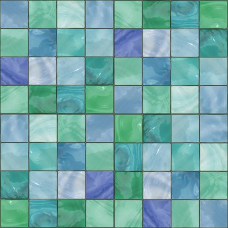 Click to get the codes for this image. Blue Green Glass Tile Background Seamless, Tile, Green, Blue Background Wallpaper Image or texture free for any profile, webpage, phone, or desktop