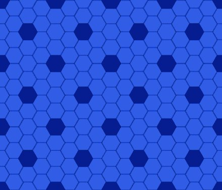 Click to get the codes for this image. Blue Hexagon Tile Seamless Background Pattern, Tile, Blue Background Wallpaper Image or texture free for any profile, webpage, phone, or desktop
