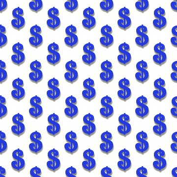 Click to get the codes for this image. Blue Dollar Signs Background Tileable, Money, Blue Background Wallpaper Image or texture free for any profile, webpage, phone, or desktop