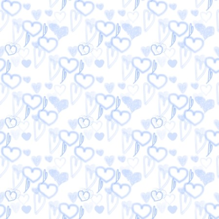 Click to get the codes for this image. Blue Pastel Random Hearts, Hearts, Blue Background Wallpaper Image or texture free for any profile, webpage, phone, or desktop