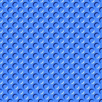 Click to get the codes for this image. Bright Blue Indented Circles Background Seamless, Beveled and Indented, Circles, Blue Background Wallpaper Image or texture free for any profile, webpage, phone, or desktop