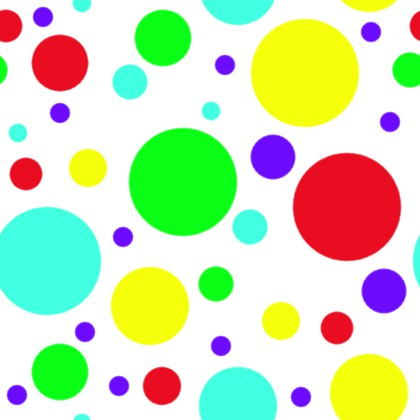 Click to get the codes for this image. Bright Colored Dots On White Background Seamless, Circles, Polka Dots Background Wallpaper Image or texture free for any profile, webpage, phone, or desktop