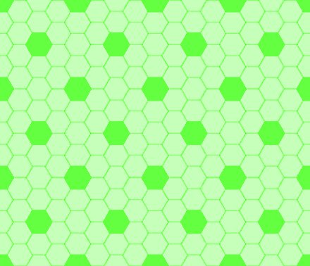 Click to get the codes for this image. Bright Green Hexagon Tile Seamless Background Pattern, Tile, Green Background Wallpaper Image or texture free for any profile, webpage, phone, or desktop