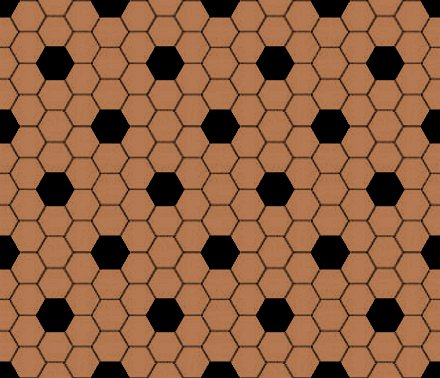 Click to get the codes for this image. Brown And Black Hexagon Tile Seamless Background Pattern, Tile, Brown Background Wallpaper Image or texture free for any profile, webpage, phone, or desktop