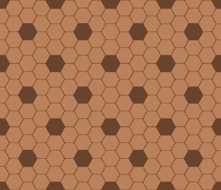 Click to get the codes for this image. Brown Hexagon Tile Seamless Background Pattern, Tile, Brown Background Wallpaper Image or texture free for any profile, webpage, phone, or desktop