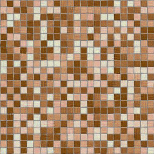 Click to get the codes for this image. Brown Mosaic Tile Wallpaper Seamless Pattern, Checkers and Squares, Tile, Brown Background Wallpaper Image or texture free for any profile, webpage, phone, or desktop