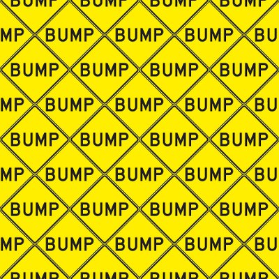 Click to get the codes for this image. Bump Signs Background Seamless, Street Signs, Yellow Background Wallpaper Image or texture free for any profile, webpage, phone, or desktop