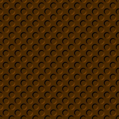 Click to get the codes for this image. Burnt Orange Colored Indented Circles Background Seamless, Beveled and Indented, Circles, Brown, Orange Background Wallpaper Image or texture free for any profile, webpage, phone, or desktop