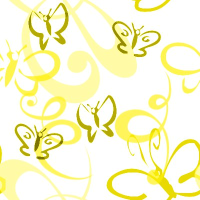 Click to get the codes for this image. Butterflies And Swirls Seamless Background Gold, Butterflies, Gold, Yellow Background Wallpaper Image or texture free for any profile, webpage, phone, or desktop