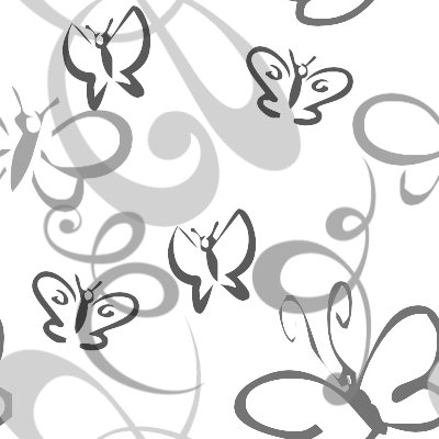 Click to get the codes for this image. Butterflies And Swirls Seamless Background Gray, Butterflies, Gray Background Wallpaper Image or texture free for any profile, webpage, phone, or desktop