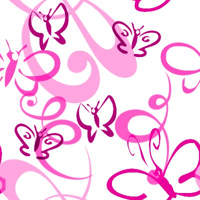 Click to get the codes for this image. Butterflies And Swirls Seamless Background Pink, Butterflies, Pink Background Wallpaper Image or texture free for any profile, webpage, phone, or desktop