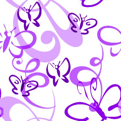 Click to get the codes for this image. Butterflies And Swirls Seamless Background Purple, Butterflies, Purple Background Wallpaper Image or texture free for any profile, webpage, phone, or desktop