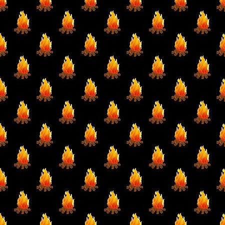 Click to get the codes for this image. Campfires On Black, Fire Background Wallpaper Image or texture free for any profile, webpage, phone, or desktop