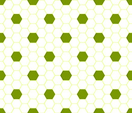 Click to get the codes for this image. Chartreuse And White Hexagon Tile Seamless Background Pattern, Tile, Green Background Wallpaper Image or texture free for any profile, webpage, phone, or desktop