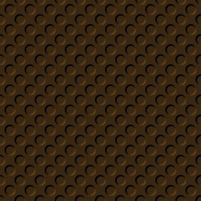 Click to get the codes for this image. Chocolate Brown Indented Circles Background Seamless, Beveled and Indented, Circles, Brown Background Wallpaper Image or texture free for any profile, webpage, phone, or desktop