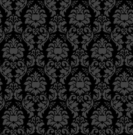 Click to get the codes for this image. Damask Wallpaper Seamless Background Black, Ornate, Damask, Dark, Black Background Wallpaper Image or texture free for any profile, webpage, phone, or desktop