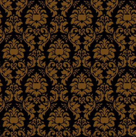 Click to get the codes for this image. Damask Wallpaper Seamless Background Brown And Black, Ornate, Damask, Brown Background Wallpaper Image or texture free for any profile, webpage, phone, or desktop