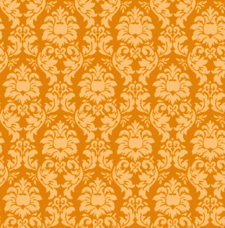 Click to get the codes for this image. Damask Wallpaper Seamless Background Burnt Orange, Ornate, Damask, Orange Background Wallpaper Image or texture free for any profile, webpage, phone, or desktop