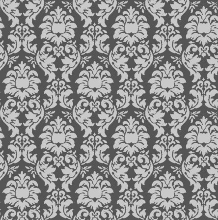 Click to get the codes for this image. Damask Wallpaper Seamless Background Gray, Ornate, Damask, Gray Background Wallpaper Image or texture free for any profile, webpage, phone, or desktop