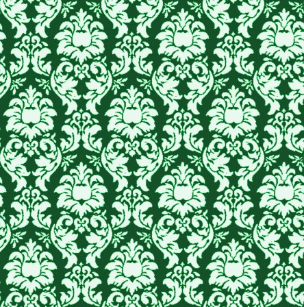 Click to get the codes for this image. Damask Wallpaper Seamless Background Green, Ornate, Damask, Green Background Wallpaper Image or texture free for any profile, webpage, phone, or desktop