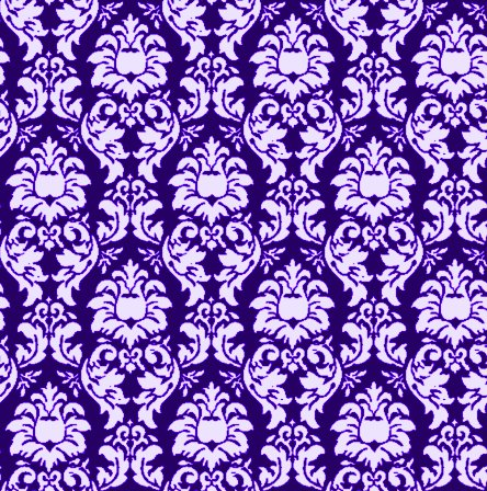 Click to get the codes for this image. Damask Wallpaper Seamless Background Navy Blue, Ornate, Damask, Purple, Blue Background Wallpaper Image or texture free for any profile, webpage, phone, or desktop
