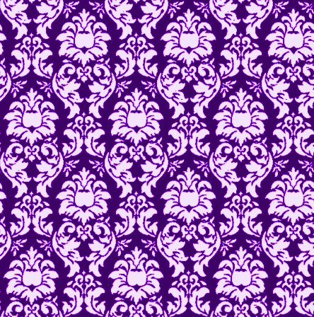 Click to get the codes for this image. Damask Wallpaper Seamless Background Purple, Ornate, Damask, Purple Background Wallpaper Image or texture free for any profile, webpage, phone, or desktop