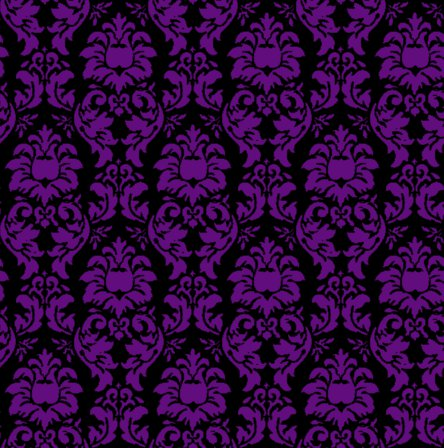 Click to get the codes for this image. Damask Wallpaper Seamless Background Purple And Black, Ornate, Damask, Purple Background Wallpaper Image or texture free for any profile, webpage, phone, or desktop