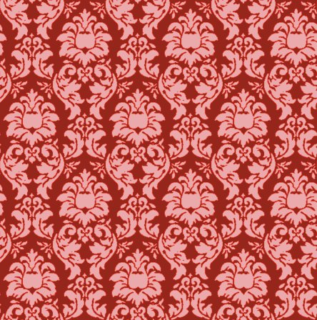 Click to get the codes for this image. Damask Wallpaper Seamless Background Red, Ornate, Damask, Red Background Wallpaper Image or texture free for any profile, webpage, phone, or desktop