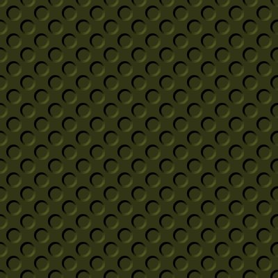 Click to get the codes for this image. Dark Olive Green Indented Circles Background Seamless, Beveled and Indented, Circles, Green Background Wallpaper Image or texture free for any profile, webpage, phone, or desktop