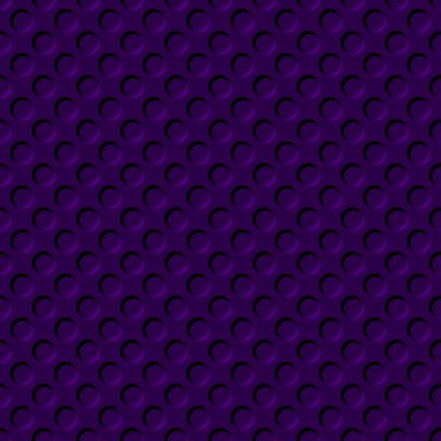 Click to get the codes for this image. Dark Purple Indented Circles Background Seamless, Beveled and Indented, Circles, Purple Background Wallpaper Image or texture free for any profile, webpage, phone, or desktop