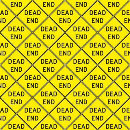 Click to get the codes for this image. Dead End Signs Background Seamless, Street Signs, Yellow Background Wallpaper Image or texture free for any profile, webpage, phone, or desktop