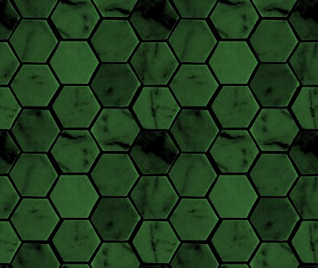 Click to get the codes for this image. Forest Green Hexagon Tile Background Seamless, Tile, Green Background Wallpaper Image or texture free for any profile, webpage, phone, or desktop