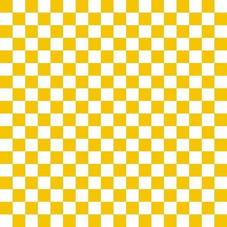 Click to get the codes for this image. Gold And White Checkerboard Pattern, Checkers and Squares, Yellow Background Wallpaper Image or texture free for any profile, webpage, phone, or desktop