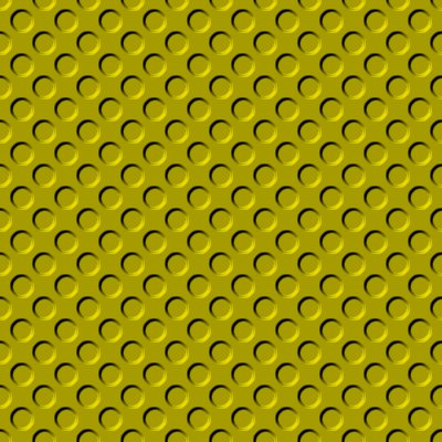 Click to get the codes for this image. Gold Indented Circles Background Seamless, Beveled and Indented, Circles, Yellow, Gold Background Wallpaper Image or texture free for any profile, webpage, phone, or desktop