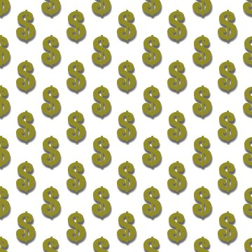 Click to get the codes for this image. Gold Dollar Signs Background Tileable, Money, Gold Background Wallpaper Image or texture free for any profile, webpage, phone, or desktop