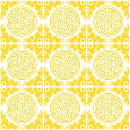 Click to get the codes for this image. Gold Ornate Circles And Squares On White, Ornate, Yellow, Circles Background Wallpaper Image or texture free for any profile, webpage, phone, or desktop