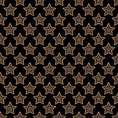 Click to get the codes for this image. Gold Stars On Black, Stars, Yellow Background Wallpaper Image or texture free for any profile, webpage, phone, or desktop