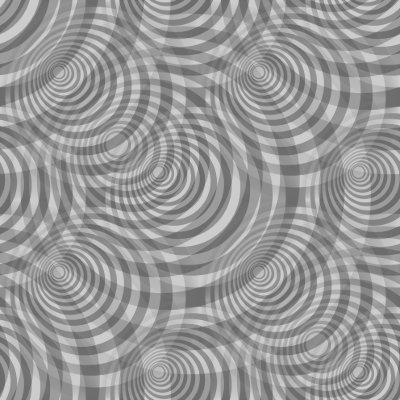 Click to get the codes for this image. Gray Circle Spirals Background Texture Tiled, Circles, Spirals, Gray Background Wallpaper Image or texture free for any profile, webpage, phone, or desktop