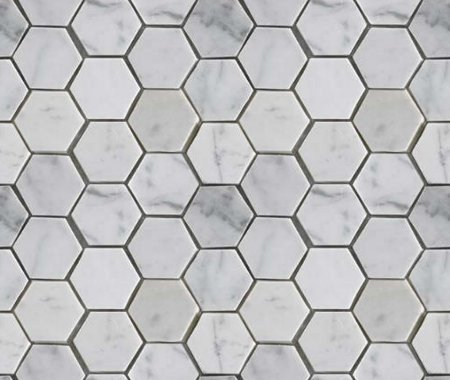 Click to get the codes for this image. Gray Hexagon Tile Background Seamless, Tile, Gray Background Wallpaper Image or texture free for any profile, webpage, phone, or desktop