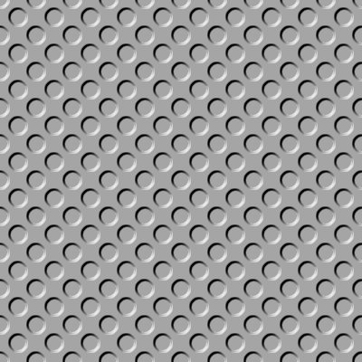 Click to get the codes for this image. Gray Indented Circles Background Seamless, Beveled and Indented, Circles, Gray Background Wallpaper Image or texture free for any profile, webpage, phone, or desktop