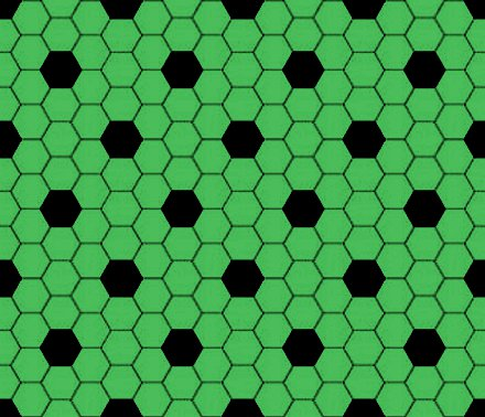 Click to get the codes for this image. Green And Black Hexagon Tile Seamless Background Pattern, Tile, Green Background Wallpaper Image or texture free for any profile, webpage, phone, or desktop