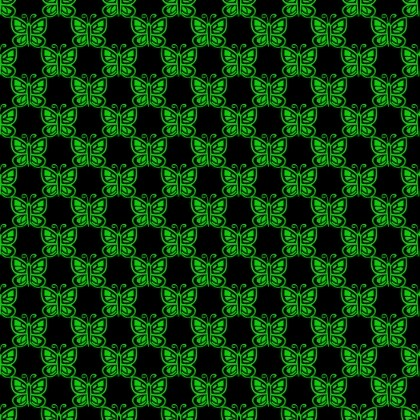 Click to get the codes for this image. Green Butterflies On Black, Green, Butterflies Background Wallpaper Image or texture free for any profile, webpage, phone, or desktop