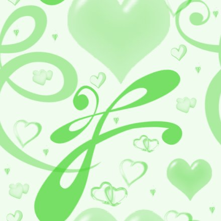 Click to get the codes for this image. Green Hearts And Swirls Background Seamless, Hearts, Green Background Wallpaper Image or texture free for any profile, webpage, phone, or desktop