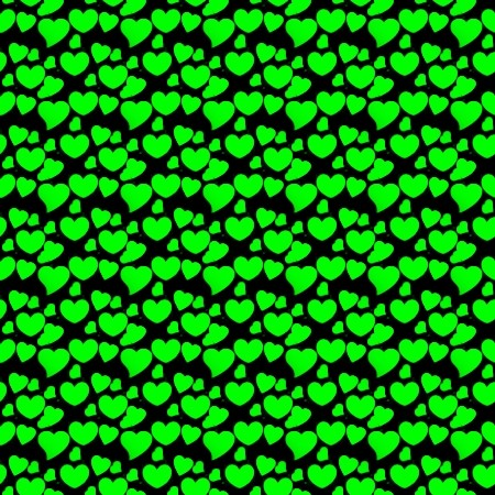 Click to get the codes for this image. Green Hearts On Black, Green, Hearts Background Wallpaper Image or texture free for any profile, webpage, phone, or desktop