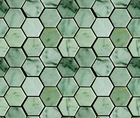 Click to get the codes for this image. Green Hexagon Tile Background Seamless, Tile, Green Background Wallpaper Image or texture free for any profile, webpage, phone, or desktop