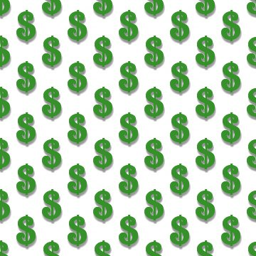 Click to get the codes for this image. Green Dollar Signs Background Tileable, Money, Green Background Wallpaper Image or texture free for any profile, webpage, phone, or desktop