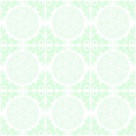 Click to get the codes for this image. Green Ornate Circles And Squares Watermark, Green, Ornate, Circles, Watermark Background Wallpaper Image or texture free for any profile, webpage, phone, or desktop
