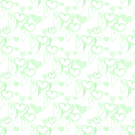 Click to get the codes for this image. Green Pastel Random Hearts, Green, Hearts Background Wallpaper Image or texture free for any profile, webpage, phone, or desktop