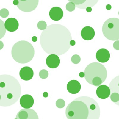 Click to get the codes for this image. Green Random Circle Dots Seamless Background, Circles, Polka Dots, Green Background Wallpaper Image or texture free for any profile, webpage, phone, or desktop